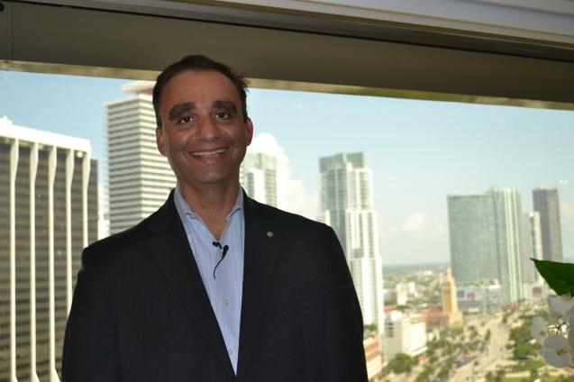 Hadi Habib - diretor de informática e responsável pelos departamentos de compras e segurança do InterContinental Miami