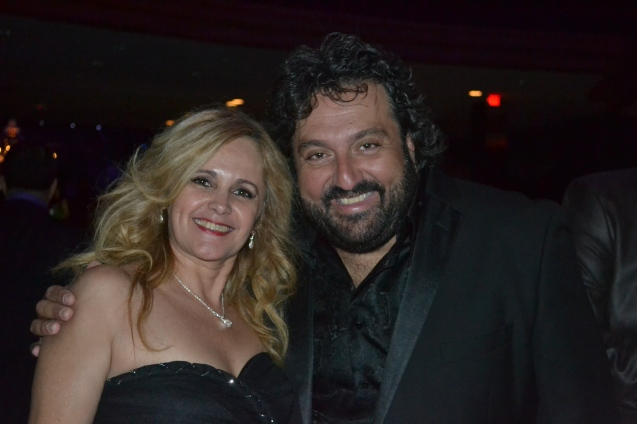 Carla Guarilha e o tenor Jorge Durian