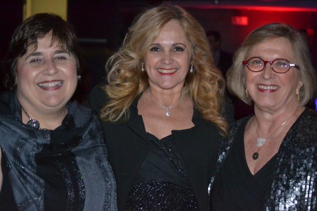 Cecília Magalhães, Carla Guarilha e Ivonete Leite