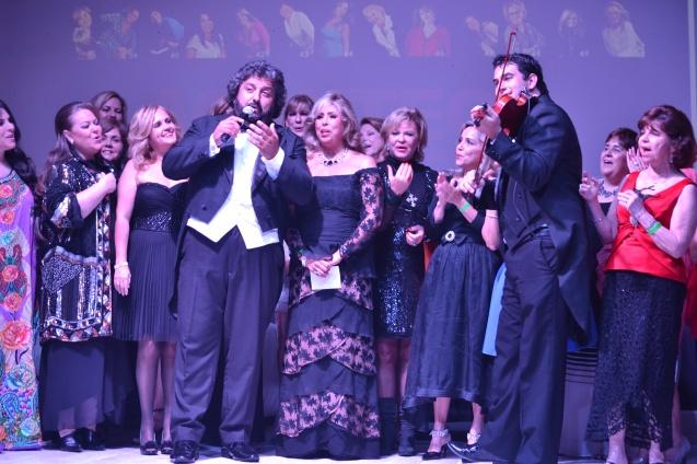 Tenor Jorge Durian e violinista Thiago Reis