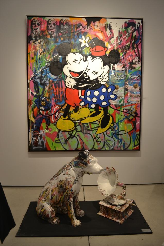 Mr. Brainwash - Mickey & Minnie, 2015
